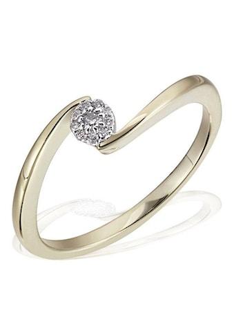 goldmaid Verlobungsring, Glamour Verlobung 585 Gelbgold 10 Brillanten 0,08 ct. kaufen