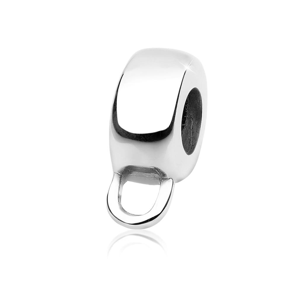 Nenalina Charm-Einhänger »Charmträger Bead Carrier Anhänger 925 Silber«