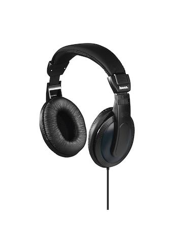 Hama Fernsehkopfhörer, Over-Ear, einseitiges, langes Kabel kaufen
