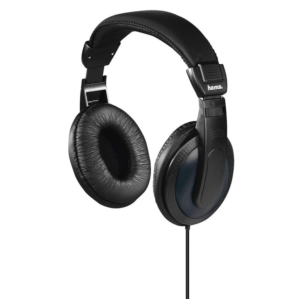 Hama Fernsehkopfhörer, Over-Ear, einseitiges, langes Kabel