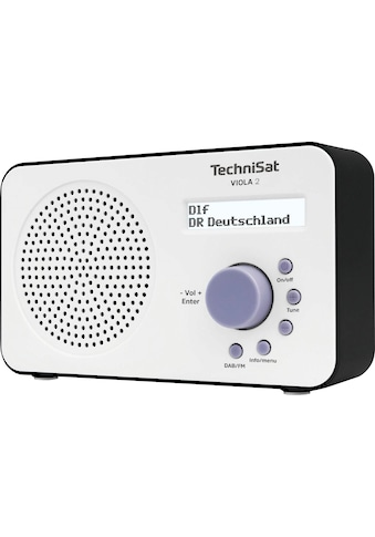 TechniSat Digitalradio (DAB+) »VIOLA 2 Tragbares«, ( Digitalradio (DAB+)-UKW mit RDS ), zweizeiliges Display, Batteriebetrieb möglich kaufen
