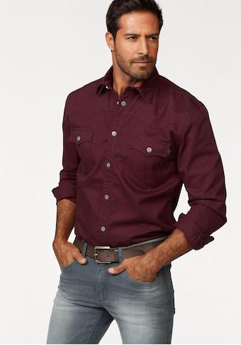 Arizona Langarmhemd, im Western-Stil kaufen