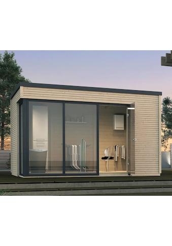 WEKA Gartenhaus »wekaLine 412 Gr.2«, BxT: 388x394 cm, inkl. Fußboden und Dachbahn kaufen