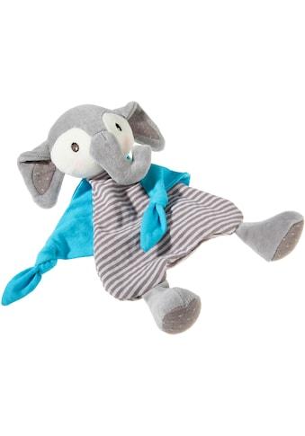 Heunec® Schmusetuch »FrohNATURen Elefant, riverblue«, GOTS organic, zertifiziert durch... kaufen