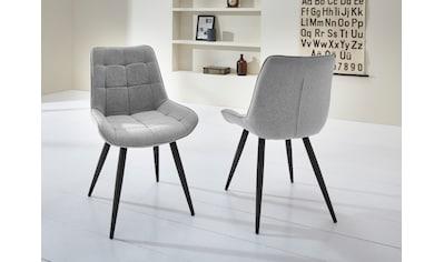 Duo Collection Esszimmerstuhl »Iris«, 2er-Set, elegante Rautensteppung kaufen