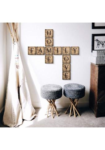 Wall-Art Deko-Buchstaben »Scrabble Deko Buchstaben 20cm« kaufen