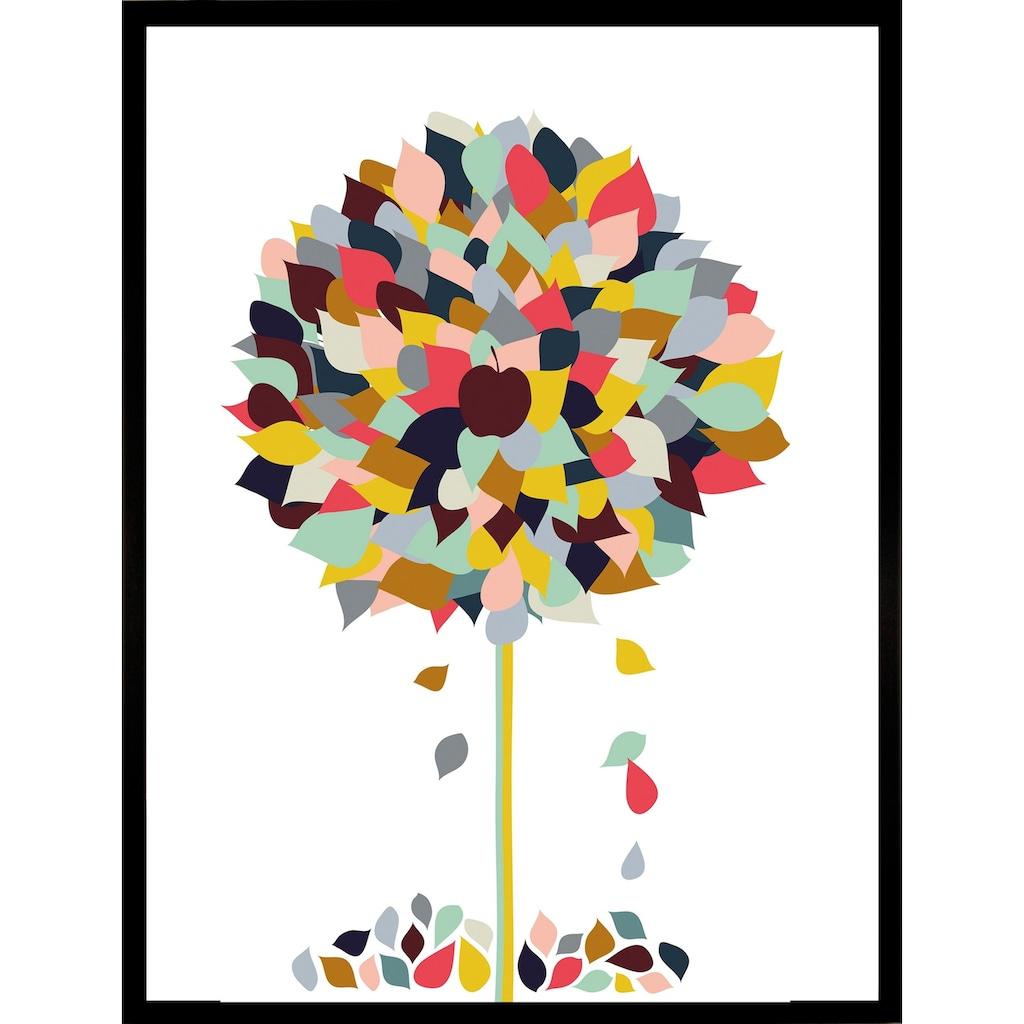 G&C Kunstdruck »Appletree«, 33/43 cm, gerahmt