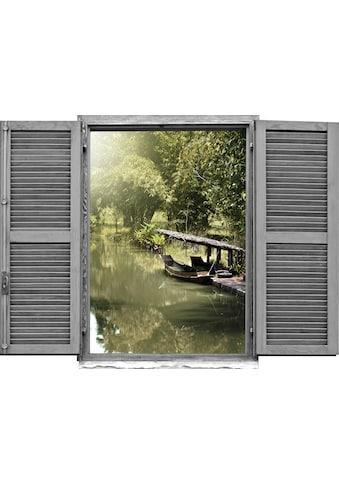 queence Wandtattoo »Asiatischer Dschungel mi« kaufen