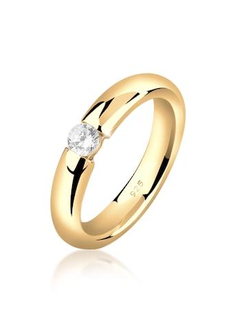 Nenalina Verlobungsring »Damenring Solitär mit Zirkonia 925 Silber« kaufen