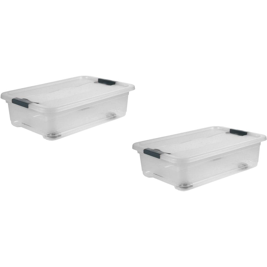 keeeper Aufbewahrungsbox »konrad«, (Set, 2 St.), 28 Liter