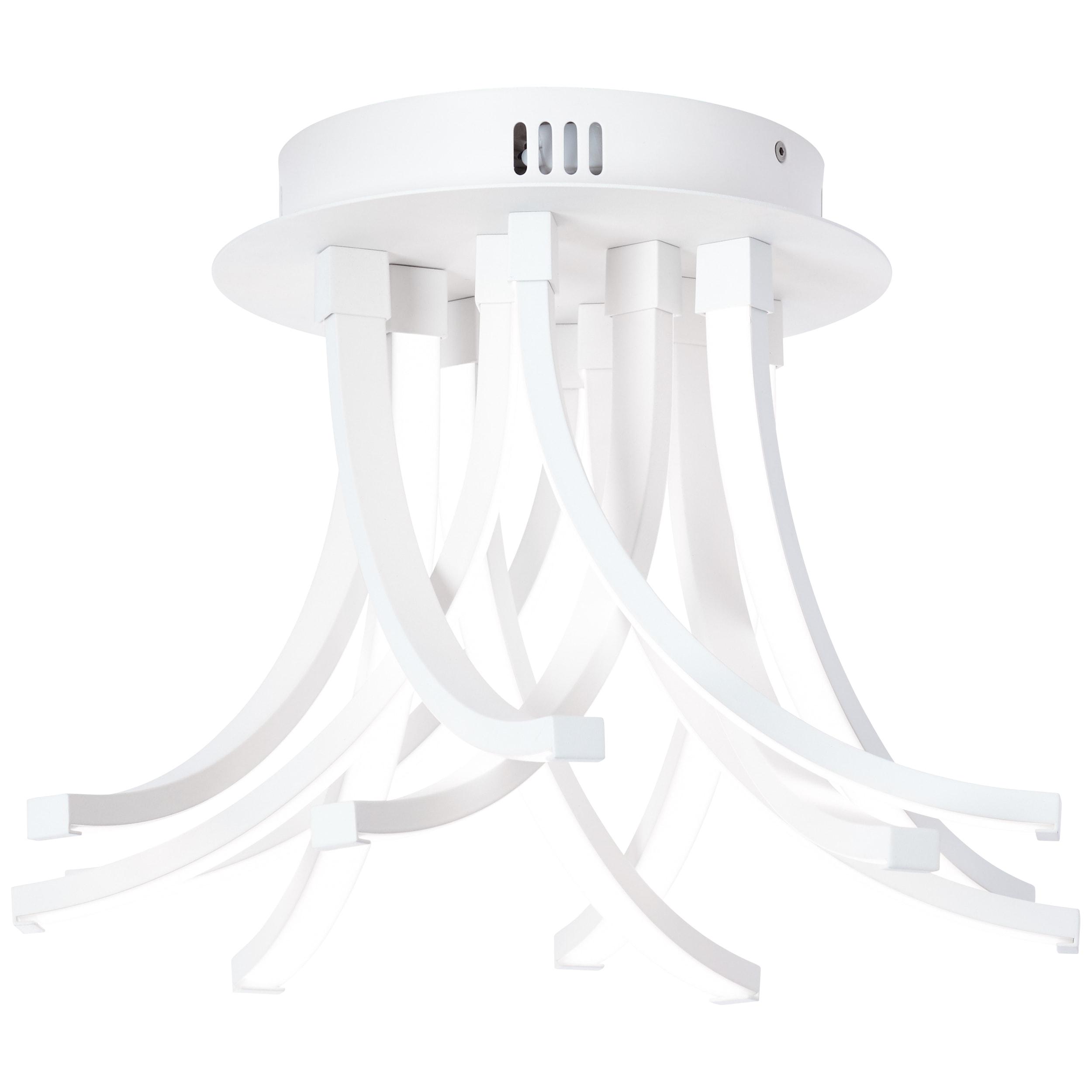 AEG Peria LED Deckenleuchte 40cm sand/weiß