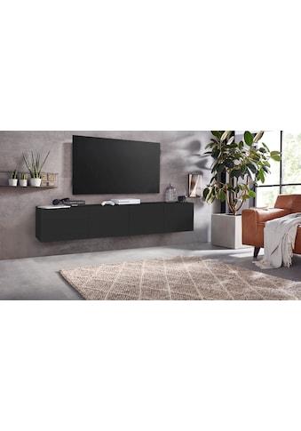 borchardt Möbel Lowboard »Sophia«, Breite 200 cm mit 4 Türen, stehend und hängend kaufen