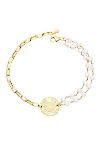 AILORIA Armband »SHIRUSHI gold/weiße Perle«, 925 Sterling Silber vergoldet Süßwasserperle kaufen