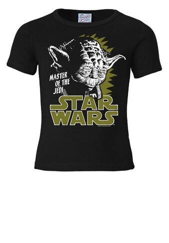 LOGOSHIRT T-Shirt mit tollem Yoda-Frontdruck kaufen