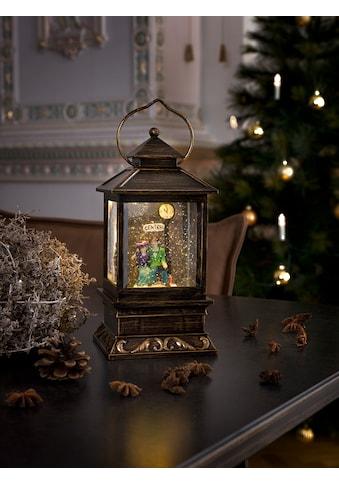 KONSTSMIDE LED Schneelaterne mit Pärchen kaufen