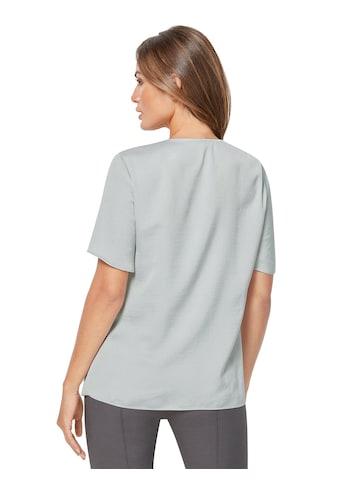 Lady Bluse aus matt glänzendem Satin kaufen