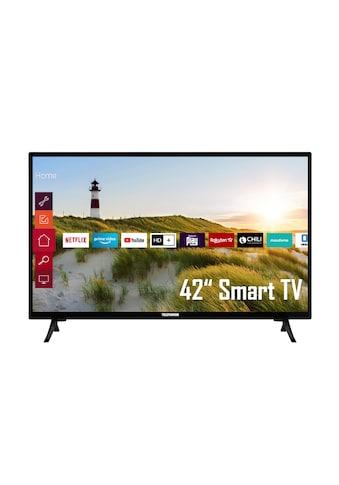 "Telefunken LED-Fernseher »XF42K550«, 106 cm/42 "", Full HD, Smart-TV kaufen"
