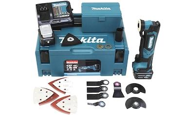 Makita Akku-Multifunktionswerkzeug »TM30DSMJX5«, mit 2 Akkus 10,8V/4,0 Ah und Ladegerät kaufen