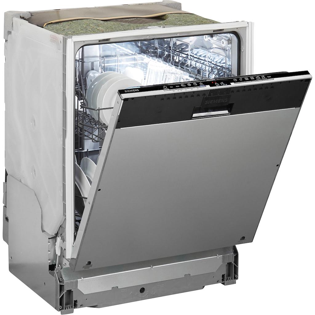 SIEMENS vollintegrierbarer Geschirrspüler »SN63HX32UE«, iQ300, SN63HX32UE, 12 Maßgedecke