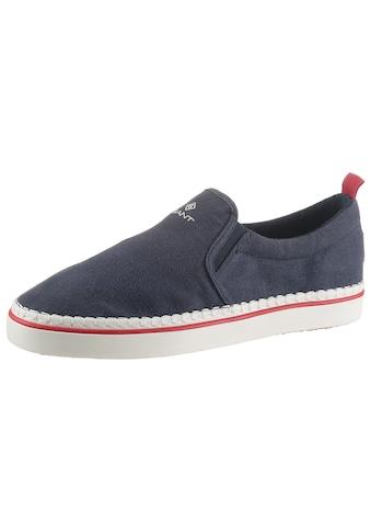Gant Footwear Slipper »FRENZO«, mit Stretcheinsätzen für bequemes Einschlupfen kaufen