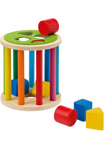 Selecta Steckspielzeug »Sortierrolle«, aus Holz, Made in Germany kaufen