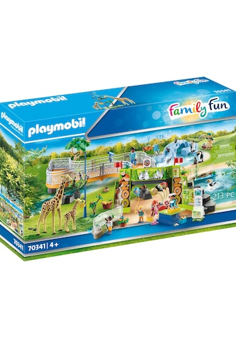 "Playmobil® Konstruktions - Spielset ""Mein großer Erlebnis - Zoo (70341), Family Fun"", Kunststoff kaufen"