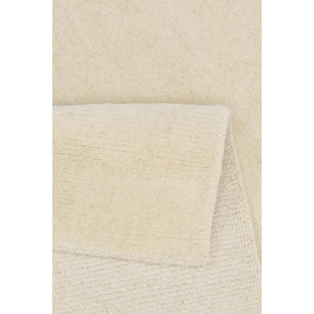THEKO Wollteppich »Nakarta 1«, rechteckig, 16 mm Höhe, reine Wolle, handgeknüpft, Wohnzimmer