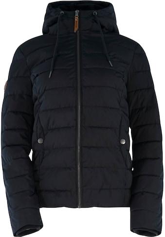 MAZINE Outdoorjacke »Juneau Down Jacket«, mit Kapuze& hohem Stehkragen kaufen