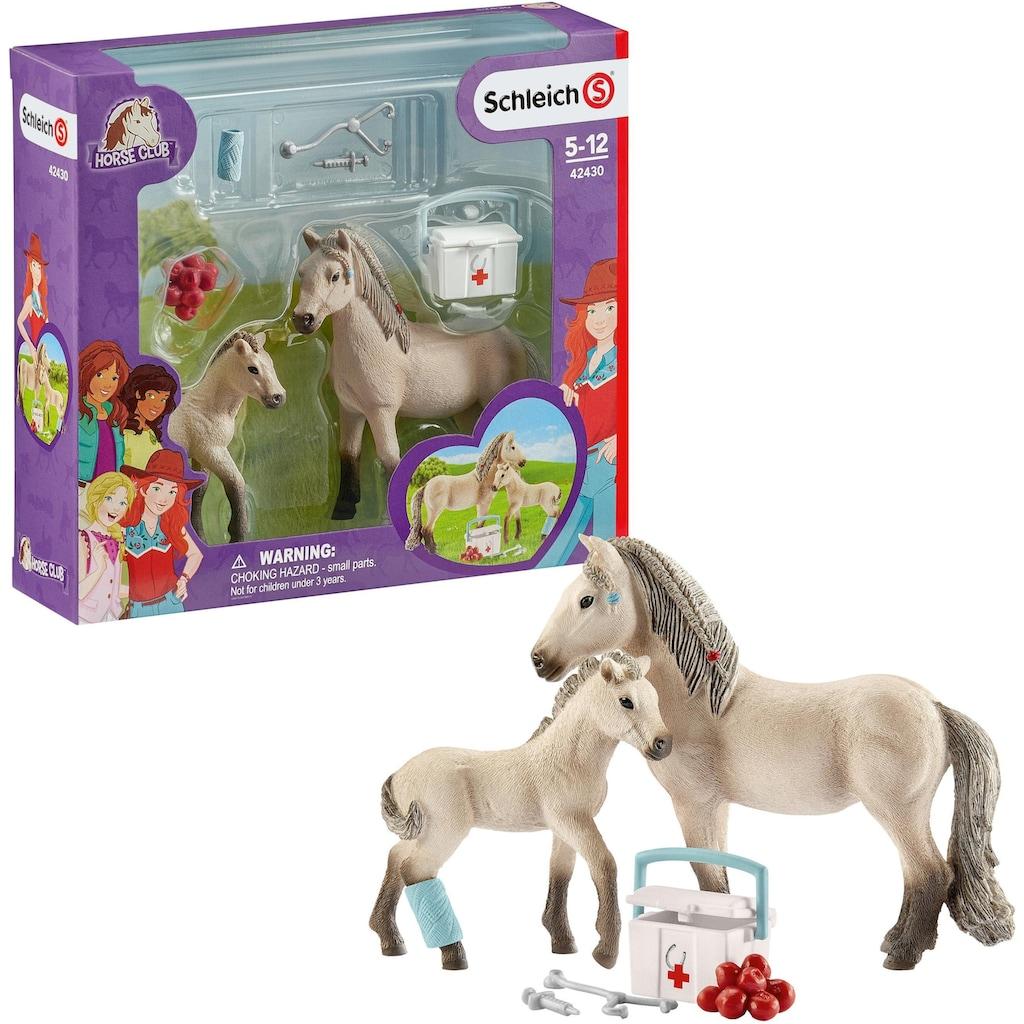 Schleich® Spielfigur »Horse Club, Hannahs Erste Hilfe Set (42430)«, (Set)