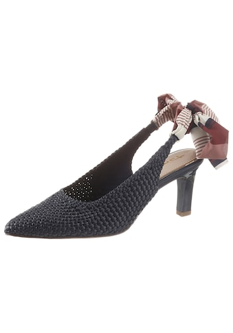 Tamaris Slingpumps »Juliane«, in Flechtoptik kaufen
