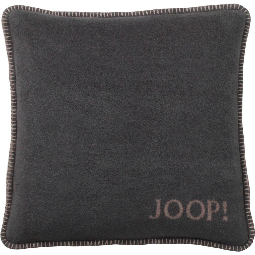Joop! Kissenhülle »Uni Doubleface«, (1 St.), in zweifarbigem Design