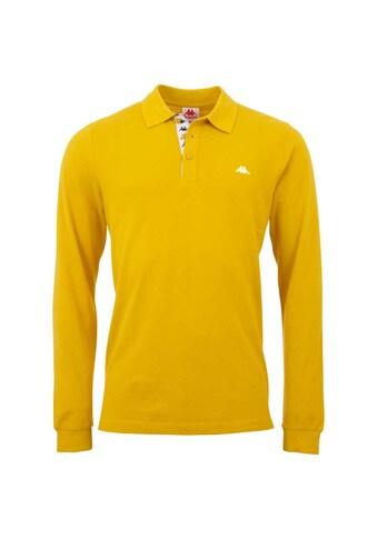 Kappa Langarm-Poloshirt »HARDI«, mit Logowebband an der Knopfleiste<br /> kaufen