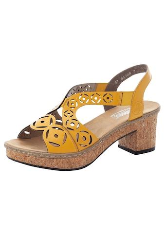 Rieker Sandalette, mit modischer Musterung kaufen
