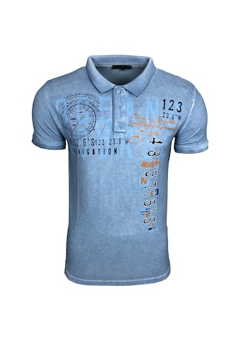 Rusty Neal Poloshirt mit Knopfleiste kaufen