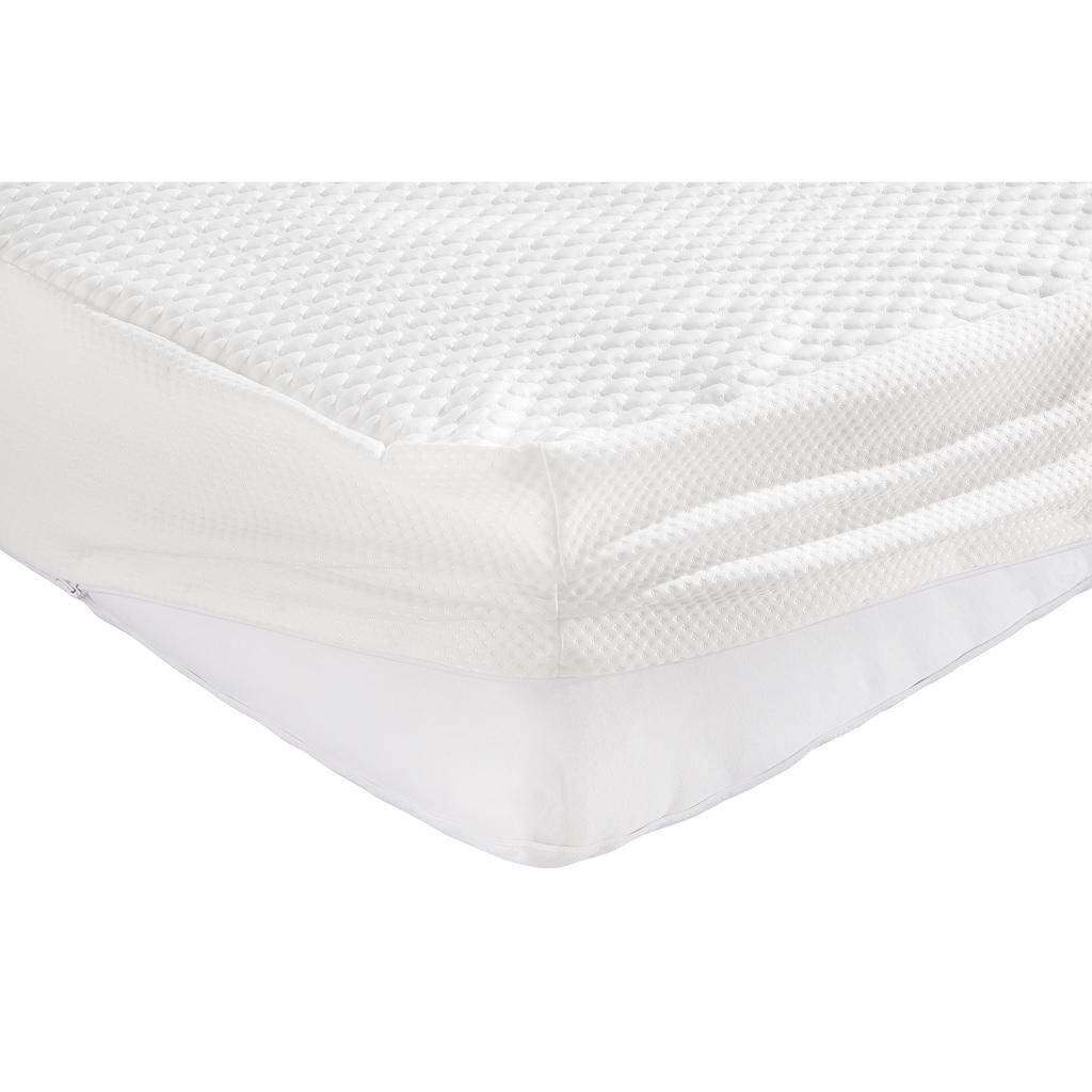 my home Matratzenersatzbezug »Chris«, Mit kühlender Sommer- & wärmender Winterseite für Matratzen von 19-22cm