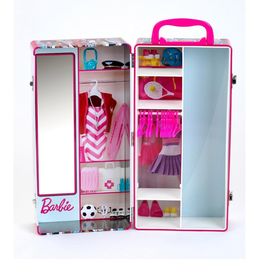 Klein Puppenkleiderschrank »Barbie Schrankkoffer«