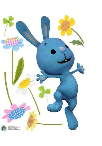 Wall-Art Wandtattoo »Kaninchen KiKANiNCHEN Blumen« kaufen