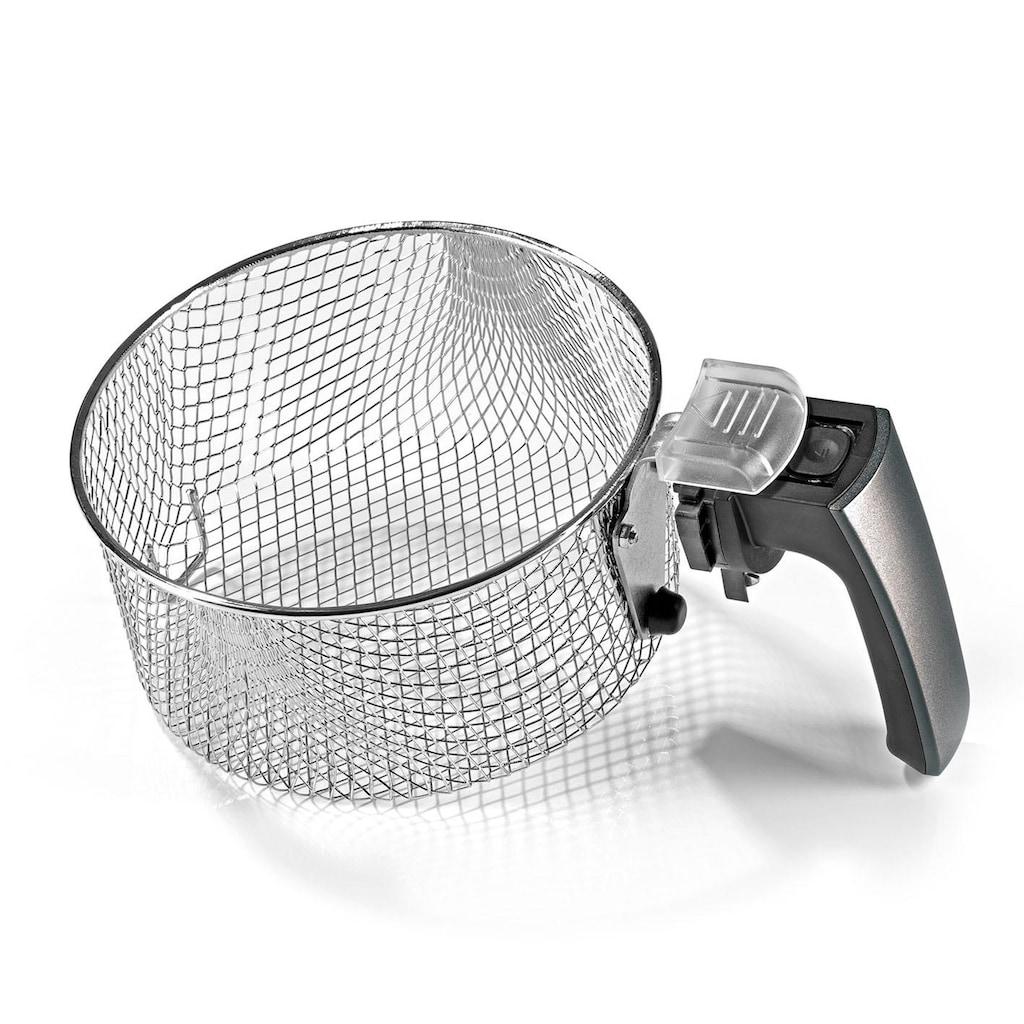 GOURMETmaxx Heissluftfritteuse »Digital«, 1500 W, Fassungsvermögen 2,5 l, grau, Fassungsvermögen 2,5 kg