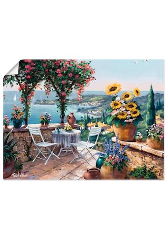 Artland Wandbild »Momente der Meditation«, Garten, (1 St.), in vielen Größen &... kaufen
