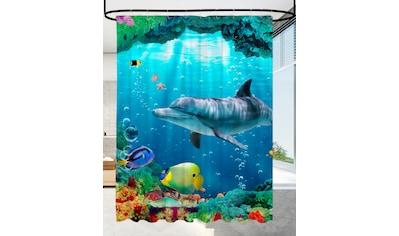SANILO Duschvorhang »Delphin Korallen«, 180 x 200 cm kaufen