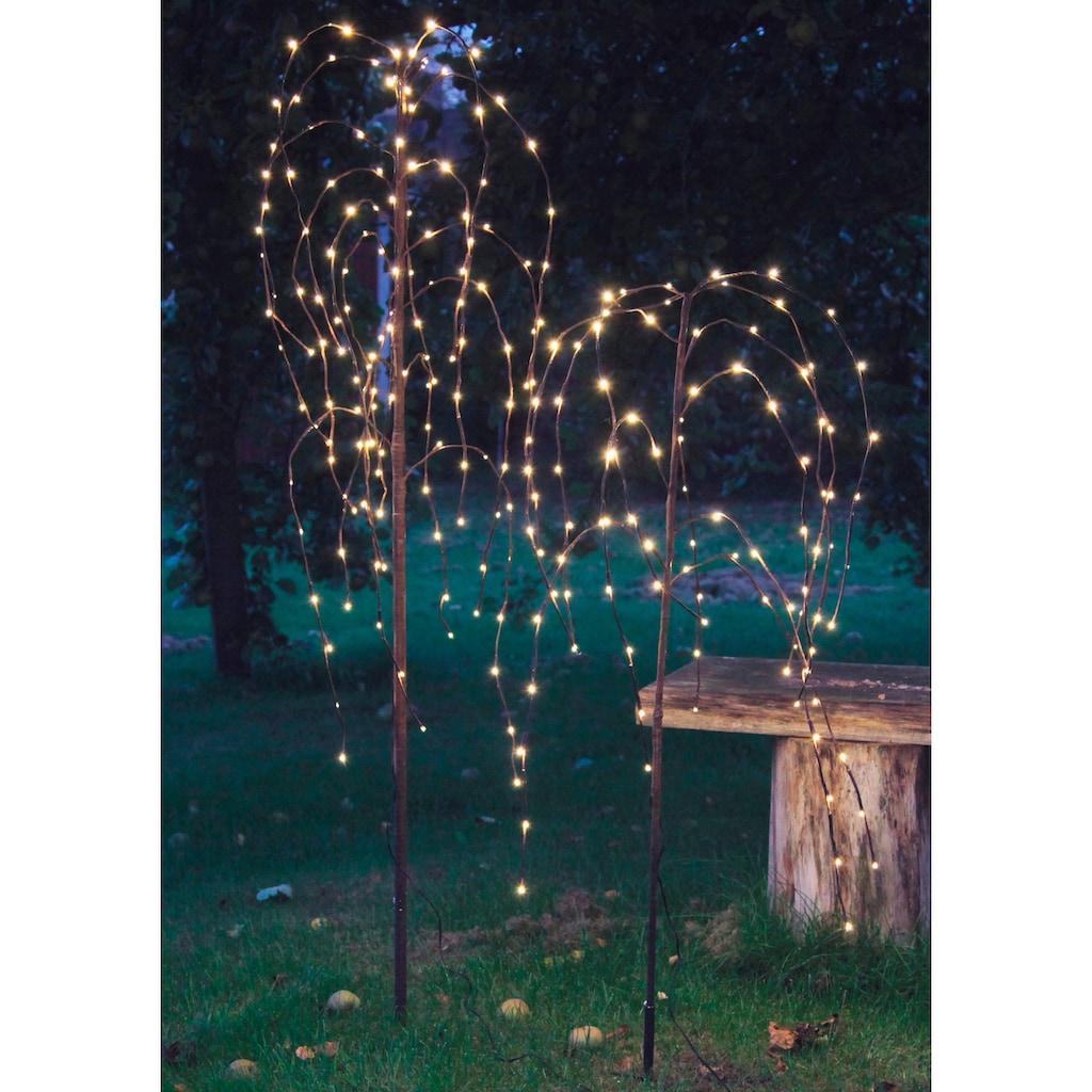 STAR TRADING LED Baum »Trauerweide«, Warmweiß