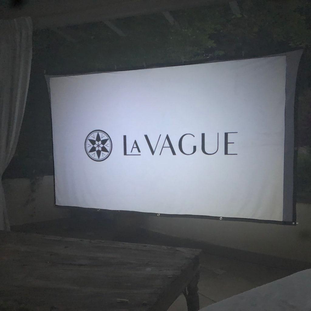 "LA VAGUE Beamer »LV-STA100FP«, Leinwand für Frontprojektion, 16:9 100 """