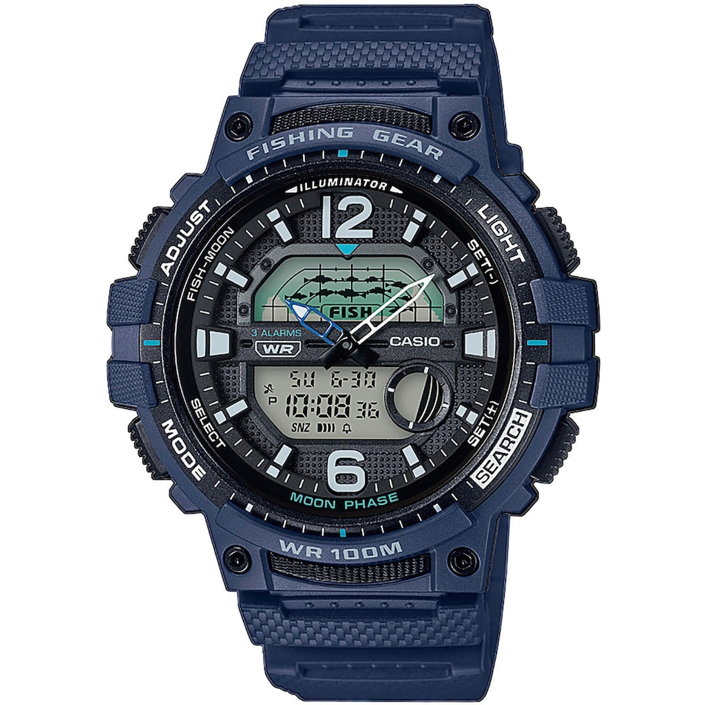 Casio Collection Chronograph »WSC-1250H-2AVEF«