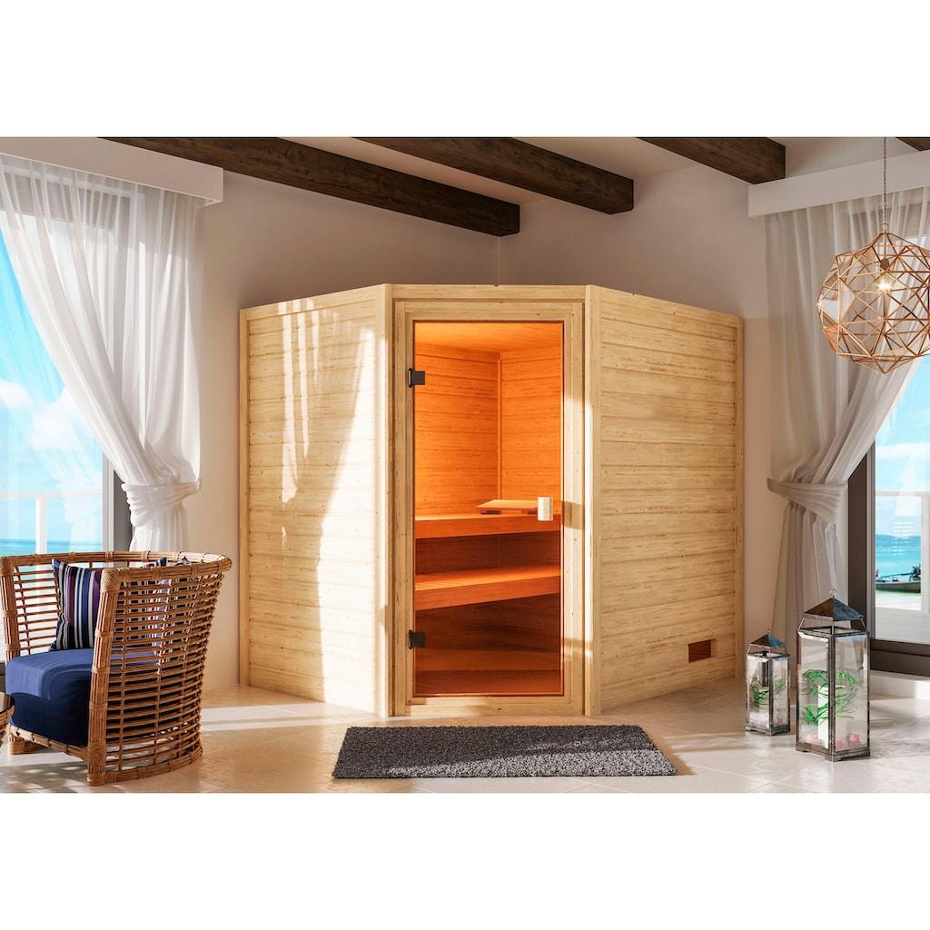Karibu Sauna »Trixi«, ohne Ofen