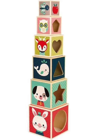 Janod Stapelspielzeug »Baby Forest Stapelpyramide« kaufen