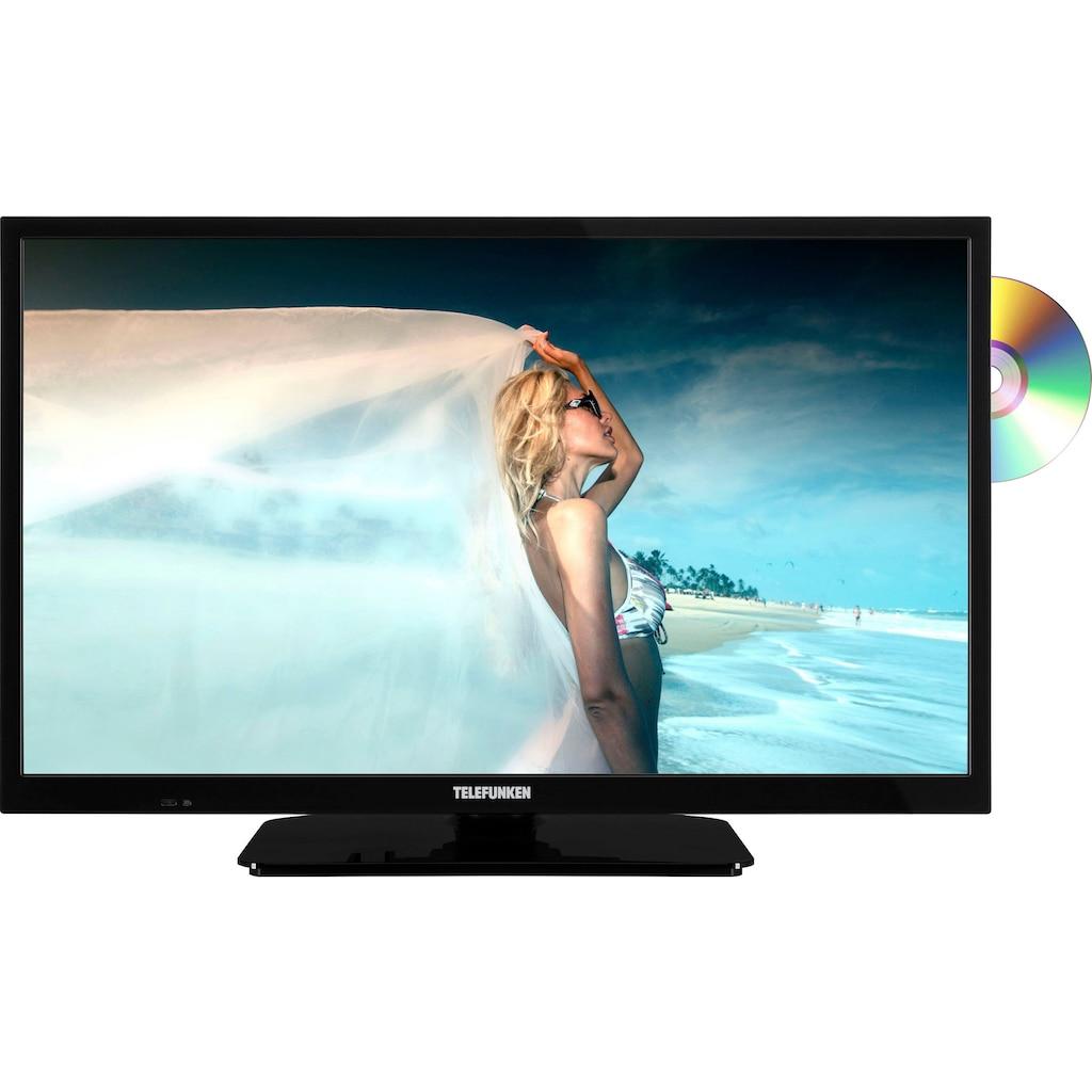 "Telefunken LED-Fernseher »L24H550M4D«, 60 cm/24 "", HD-ready, integrierter DVD-Player"