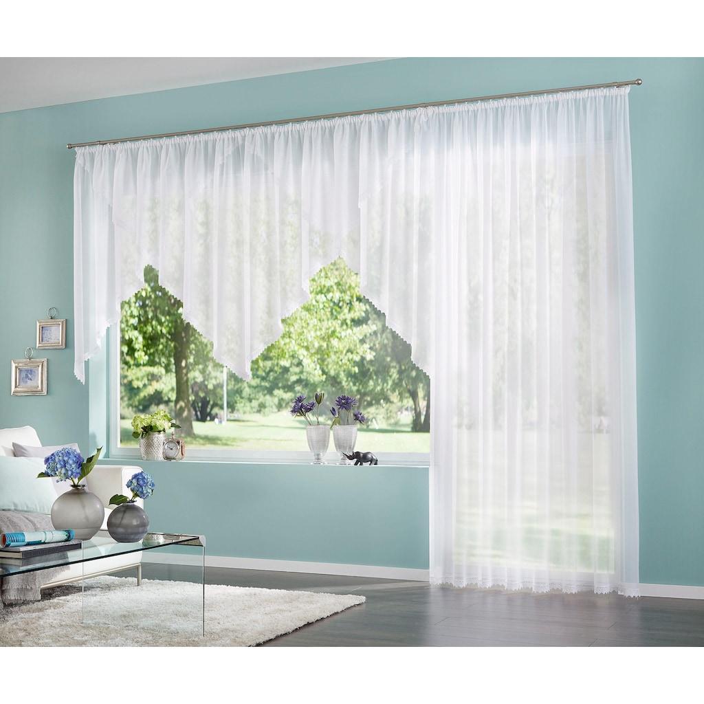 my home Kuvertstore »Missy«, Gardine, Fertiggardine, transparent
