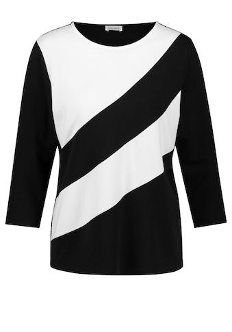GERRY WEBER 3/4 - Arm - Shirt »3/4 Arm Shirt mit Blockstreifen« kaufen