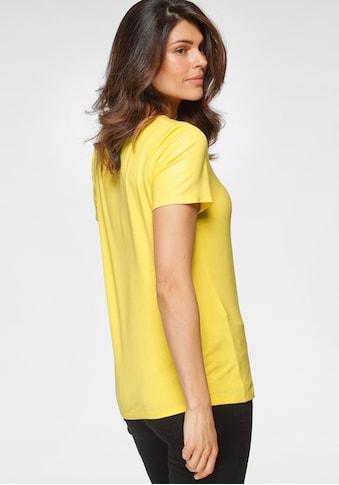 OTTO products V-Shirt, nachhaltig aus LENZING™ ECOVERO™ Viskose kaufen