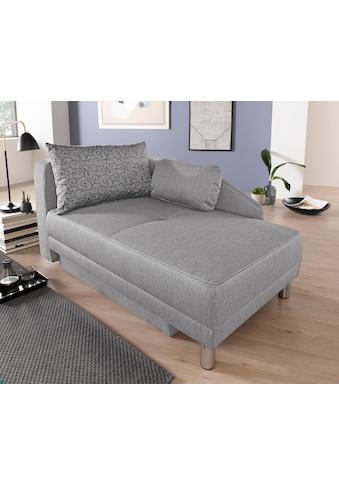 Jockenhöfer Gruppe Recamiere, Chaiselongue mit Bettfunktion und Bettkasten, inklusive... kaufen